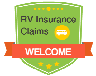 rv insurance claims welcome badge